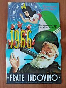 Calendario Frate Indovino Ebay.Dettagli Su Calendario Frate Indovino 1966 Biancaneve E Nove Nani