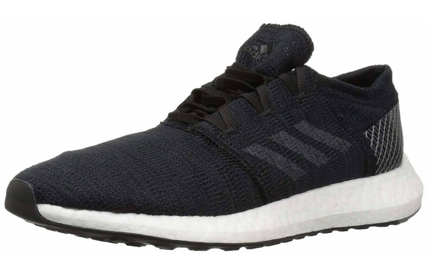 Adidas Men's Pureboost Go Running shoes Black Grey Grey - 11 M US
