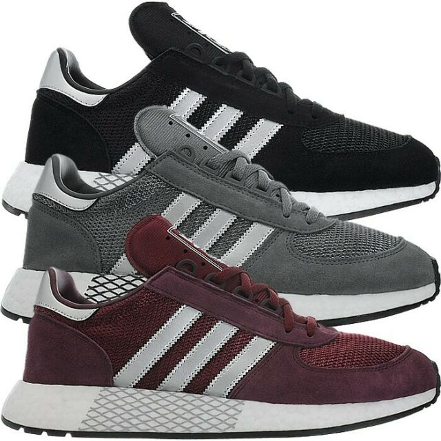 X5923 Top Marathon Grau Adidas Freizeitschuhe Rot Sneakers Herren Low Schwarz 1FJcKl