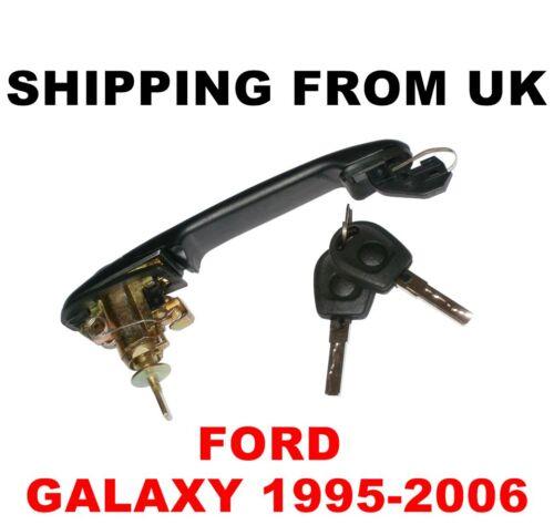 HANDLE 2 KEYS for FORD GALAXY 42mm PIN DOOR LOCK SET FRONT LEFT RIGHT BARREL