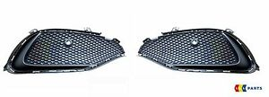 NEW-GENUINE-MERCEDES-BENZ-MB-A-CLASS-2015-W176-AMG-SPORT-FRONT-BUMPER-GRILL-SET