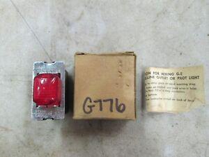 General-Electric-Red-Pilot-Light-125V-GE-7635-0-NIB
