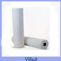 lenzuolino tnt medico/estetico bianco super resistente pretagliato h 60 cm L80mt