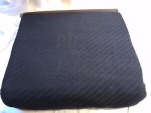 Ralph Lauren Regent Solid King Diagonal Cotton Blanket  Black
