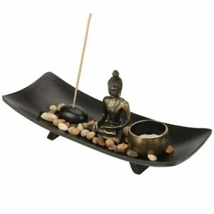 Incense Stick Holder Burning Joss Insence Ash Catcher Insense Burner Furnace US