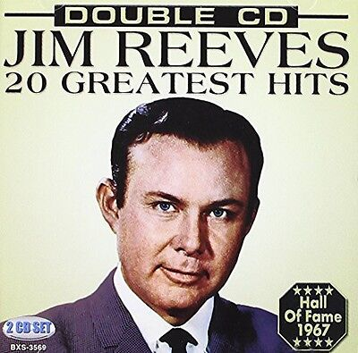 Jim Reeves - 20 Greatest Hits New CD 12676356923   eBay