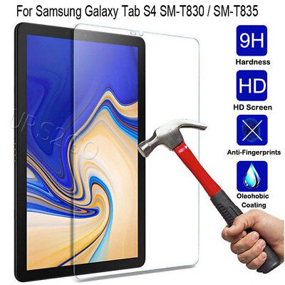 """Tempered Glass Full Cover Tablet Samsung Galaxy Tab S4 10.5/"""" Screen Protector"""