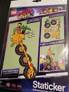LEGO The Movie 2 Emmet and Emmet's Thricycle Staticker