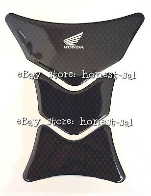 Original Genuine effect in pad motorcycle Honda Wing carbon tank design qpFfUp