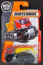 2016 Matchbox #64 Wheelin' Wrecker™ RED/ROD OF ASCLEPIUS/MOC