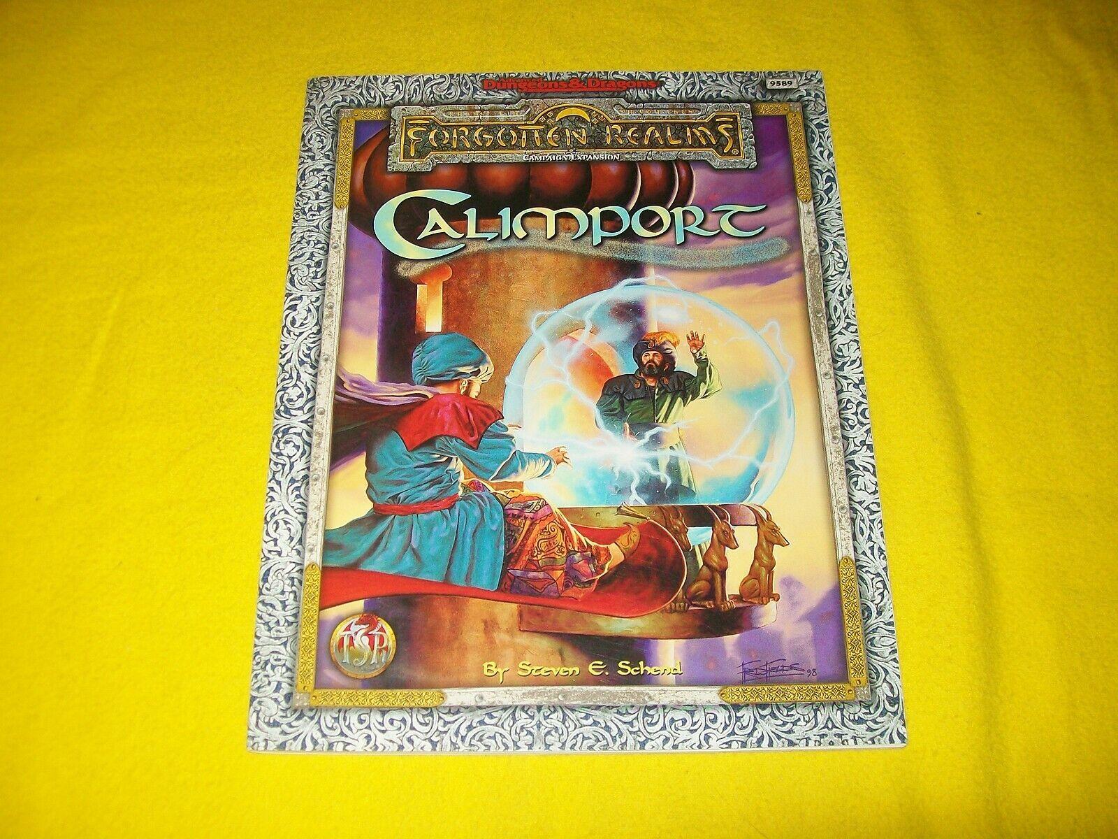 CALIMPORT FORGOTTEN REALMS DUNGEONS & DRAGONS AD&D TSR 9589 - 4 HIGH GRADE