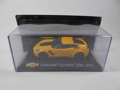 Chevrolet Corvette Z06 2017-1:43 IXO Supercars Diecast Modellauto Miniatur S53
