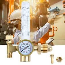 Argon Co2 Mig Tig Flow Meter Welding Weld Regulator Gauge Gas Welder Cga580