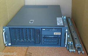 Fujitsu-Primergy-TX300-S4-Server-2-x-2-5GHz-Quad-Core-Xeon-E5420-4GB-RAM-amp-Schienen