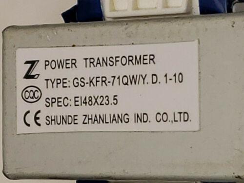SHUNDE ZHANLIANG Power Transformer GS-KFR-71QW//Y.D.1-10