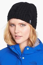 New with tag! The North Face Minna Cable Knit Beanie Hat - Black - One Size
