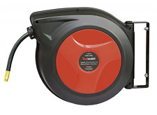 ReelWorks 27807153A Plastic Retractable Air Compressor/Water Hose Reel with 3/8""