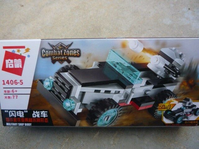 Combat Zone Military 2 In 1 1 1 Vehicles LEGO Sets and Super Carrier Warship 822e3c