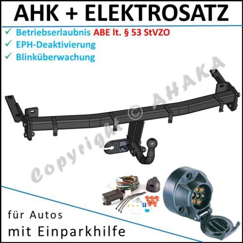 EPH-Abschaltung Einparkhilfe E-satz AHK /& ES7 VW Caddy III Kasten Kombi ab 2004