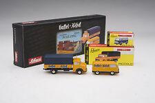 """Schuco / Mercedes L322 & Ford FK 1000 """"Gaffel Kolsch Beer"""" Delivery / #SHU05817"""