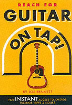 1 of 1 - Guitar on Tap!, Bennett, Joe, Used; Good Book