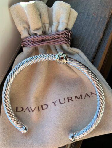 Rhodalite Garnet 14k Gold David Yurman 925 Renaissance Bracelet Pink Tourmaline