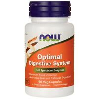 Now Foods Optimal Digestive System 90 Veg Capsules Full Spectrum Enzymes