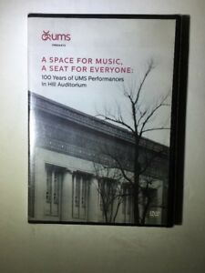 Details about PBS UMS Documentary A space for music, a seat for everyone DVD