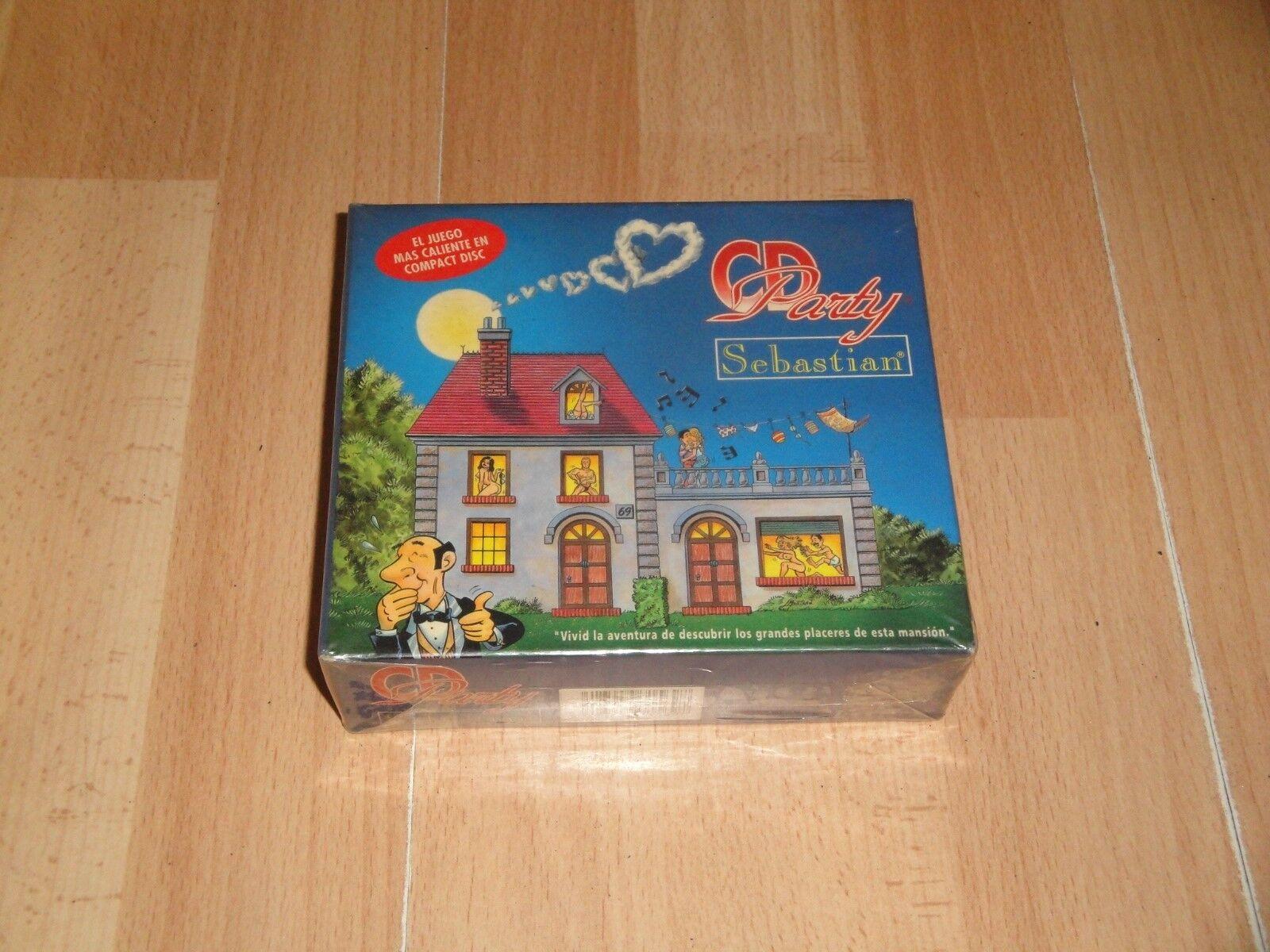 CD party sebastian de mario board game + CD new sealed