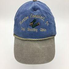 Vintage Harlan Campbell Jr. Trap Shooting Clinics Rope Front Snapback Hat
