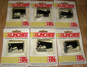 Tru-Trac-6-Pac-Klincher-Downrigger-Terminators-N-I-B