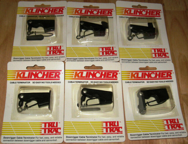 Tru Trac 6 Pac Klincher Downrigger Terminators N.I. B.
