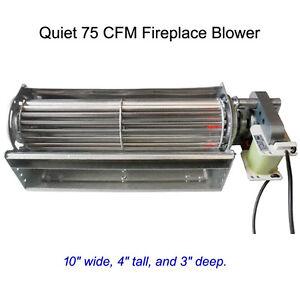 Heat Surge New Quiet Cfm Fireplace Blower Stove Fireplace