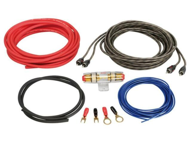 ACV LK-6  Auto KFZ Car HiFi Kabelset Endstufen /& Verstärker Woofer  6mm² *NEU*