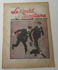 TINTIN-HERGE-LE-PETIT-VINGTIEME-NO-44-1937-ABIME