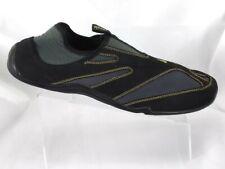 48762b9955e4 Ahnu Male Delta Black Water Shoes Mens Black Gray Gold Slip On US 14 M