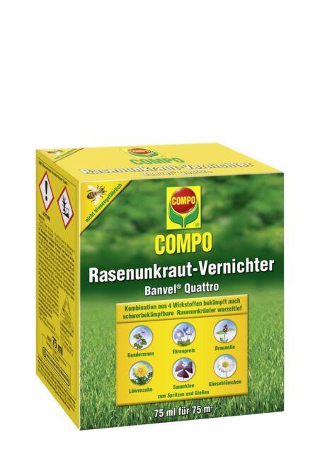 Compo Rasenunkraut-Vernichter Banvel Quattro 75 ml