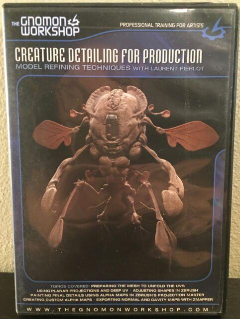 Gnomon Workshop Creature Detailing for Production Laurent Pierlot DVD