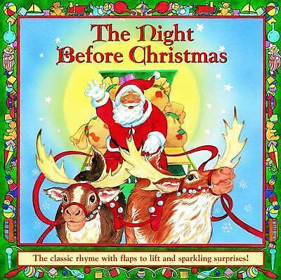 1 of 1 - Clement Clarke Moore, The Night Before Christmas: The Classic Rhyme with Flaps t