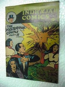 MANDRAKE THE MYSTERIOUS COUPLE 2 VOL 26NO 2 INDRAJAL COMICS