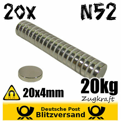 Magnete Magnetic Magneten Neodym Magnet Scheibe 120x20 mm 750kg Zugkraft N52