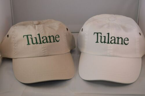 New Get 2 Tulane University Hats Vintage Adjustable