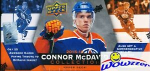 15-16-UD-Connor-McDavid-Collection-Factory-Sealed-Box-25-ROOKIE-Cards-JUMBO-RC