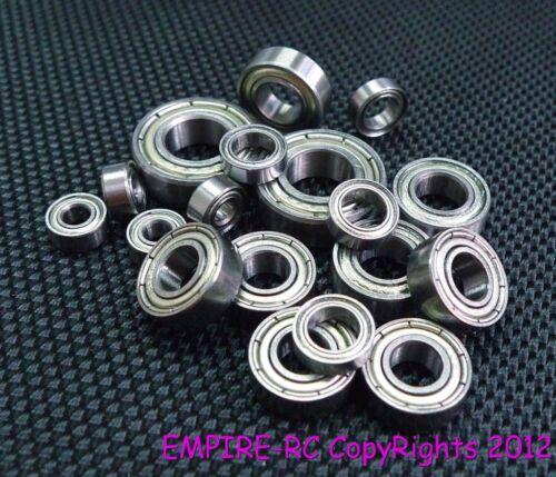 Metall Geschirmt Kugellager für Tamiya 58475 F104 Vodafone Mclaren Mp424 6 Stk