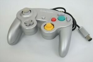 Game-Cube-Official-Controller-Pad-SILVER-Nintendo-JAPAN-Video-Game-1407