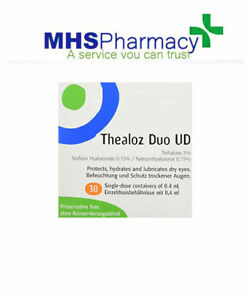 Thea Thealoz Duo Dry Eye Unidose Drops, Pack of 30 Drops
