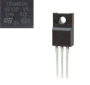 1pcs New STF13NM60N F13NM60N 13NM60N TO-220 TO220 Ic Chips Replacement