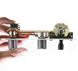 920D-charge-pre-cable-de-controle-7-Way-Plaque-Pour-Fender-Nashville-Tele-Telecaster