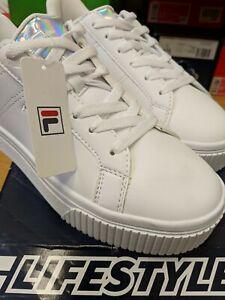 white trainers junior size 5