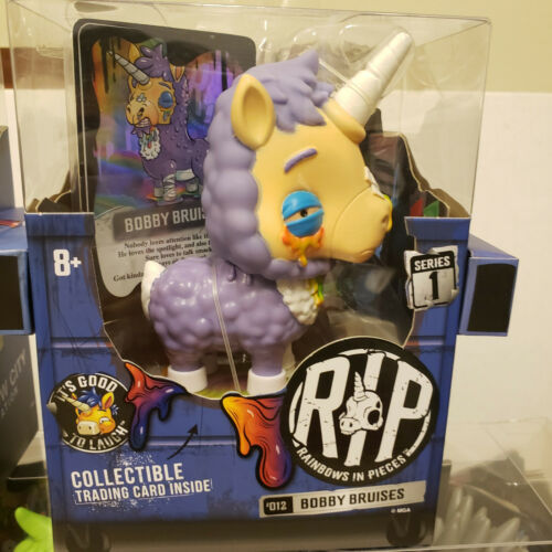 R.I.P Rainbows in Pieces SERIES 1 Gnarly Creepy but Cute Undead Unicorn Toys